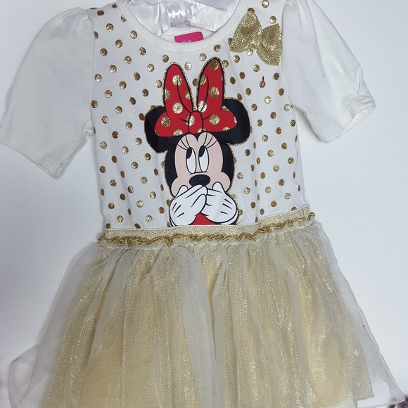a13d244f Minnie Mouse Toddler Girl Size 3T Tutu Shirt